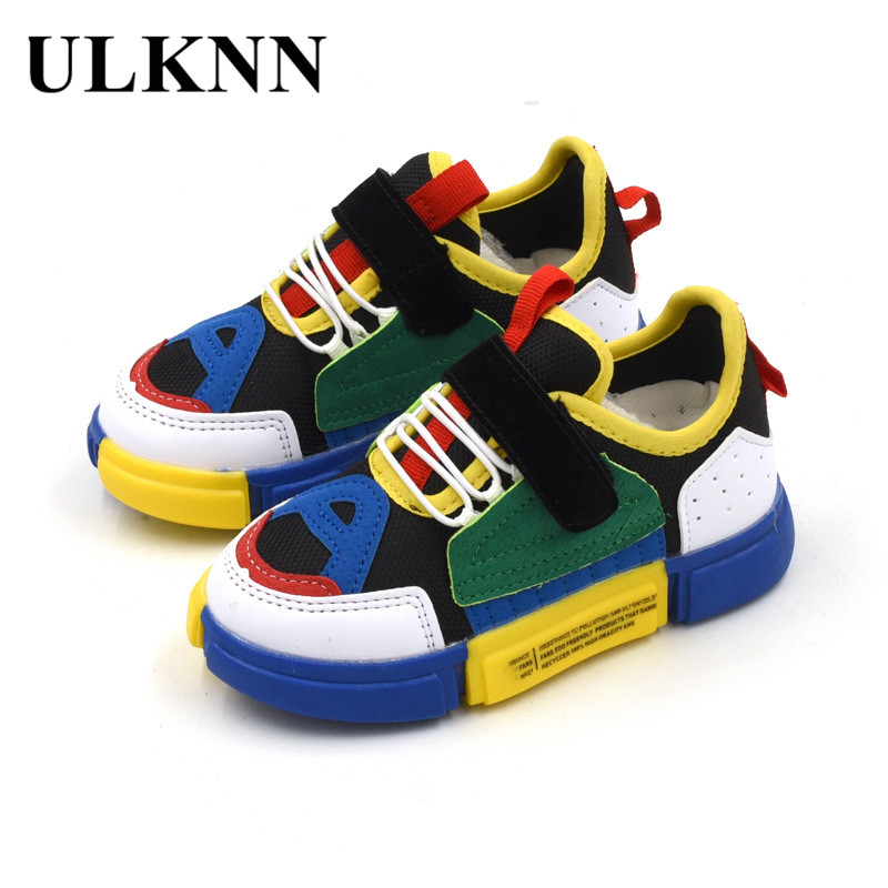 ULKNN 2018 Autumn New Kids Shoes For Girls Sneakers Running Mesh Breathable Boys Sport Shoes Soft Leather Flat Children SneakersULKNN 2018 Autumn New Kids Shoes For Girls Sneakers Running Mesh Breathable Boys Sport Shoes Soft Leather Flat Children Sneakers