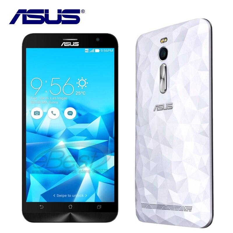 Original ASUS Zenfone 2 Deluxe ZE551ML 4GB RAM 64GB ROM Mobile phone Dual SIM Intel Z3580 Android 5.0 Quad Core 3000mAh 4G LTE