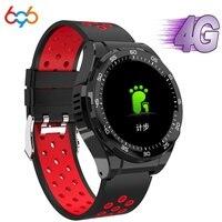 696 M15 smart watch Android 6.0 MTK6737 unterstützung 4G SIM karte WiFi GPS Bluetooth smartwatch Herz Rate Schrittzähler IP67 Wasserdicht|Smart Watches|   -