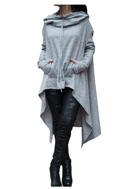 2018 polychromen Multi Code Lang Kleiden Kleidungsstücke Sweatshirts Mode Frauen Sweatshirts