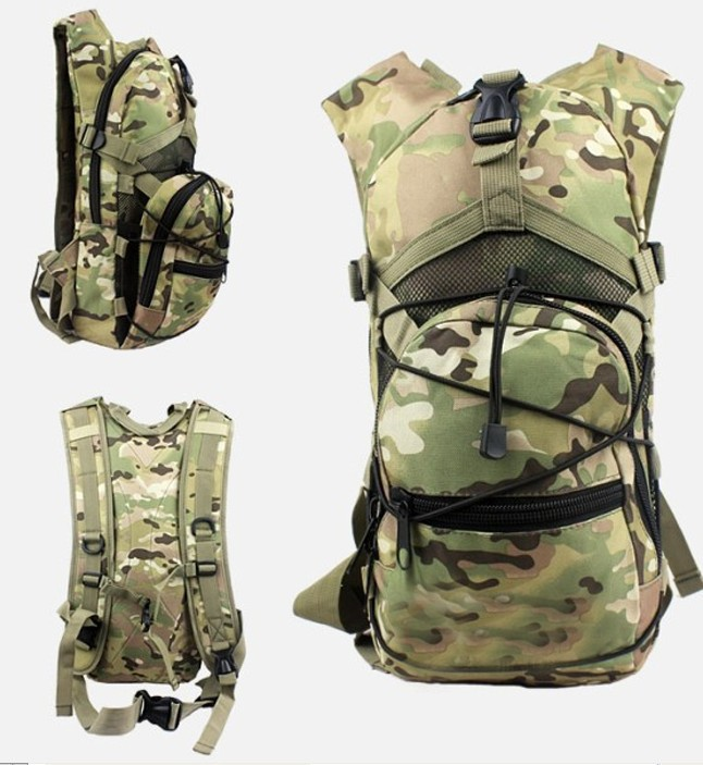 4 color Men Women 2.5L Tactical Outdoor Hydration Water Backpack Bag Without Water Bladder цена и фото