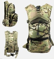 4 color Men Women 2.5L Tactical Outdoor Hydration Water Backpack Bag Without Water Bladder