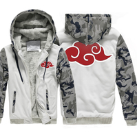 Hot Sale Sweatshirts Men 2017 Winter Fleece Thick Camouflage Hoodies Print Red Cloud Raglan Hoodie Jacket Men Harajuku Hip Hop