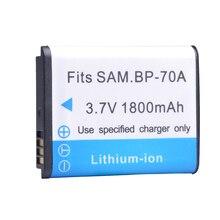 Tectra 2 шт. BP-70A BP70A BP 70A Батарея для samsung ST95 ST100 ST6500 SL50 SL600 TL205 WB30F WB35F Батарея