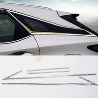 Stahl Auto Fenster Streifen Schutz Trimmt 4PCS Für Lexus RX350 RX450H 2016 2017-in Chrom-Styling aus Kraftfahrzeuge und Motorräder bei
