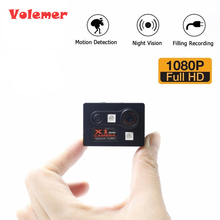 Cheapest prices VolemerX1 Mini Camera HD 1080P Night Vision Camcorder Car DVR Infrared Video Recorder Sport Digital Micro Cam With Motion Sensor