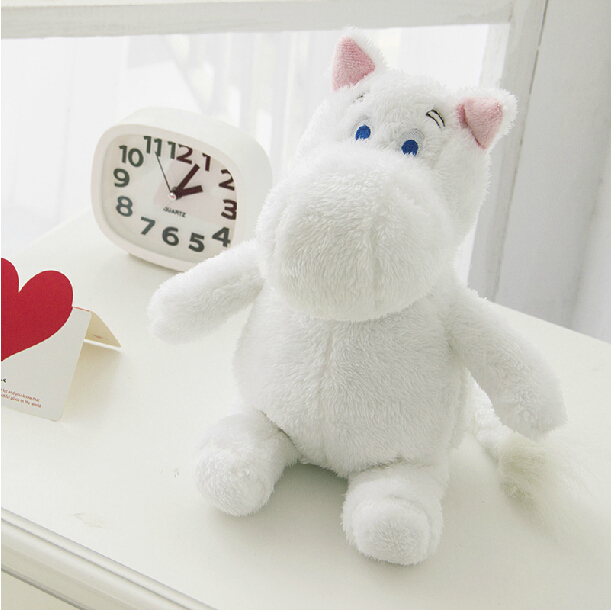1 piece 98 cartoon movie moomin plush animal toys soft stuffed animal plush hippo toys promotional toy chrismas gift for kids
