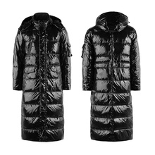 luxury down jacket men 90%white duck X-Long casual down jacket winter male jackets warm thick down jackets coat designers made