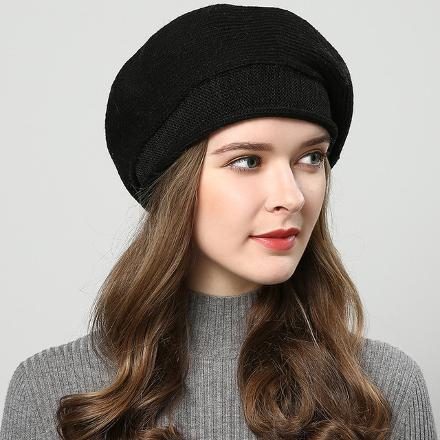 Winter hats for women knitted hat fashion Berets Women's autumn hat touca inverno feminina 7 colors wholesale