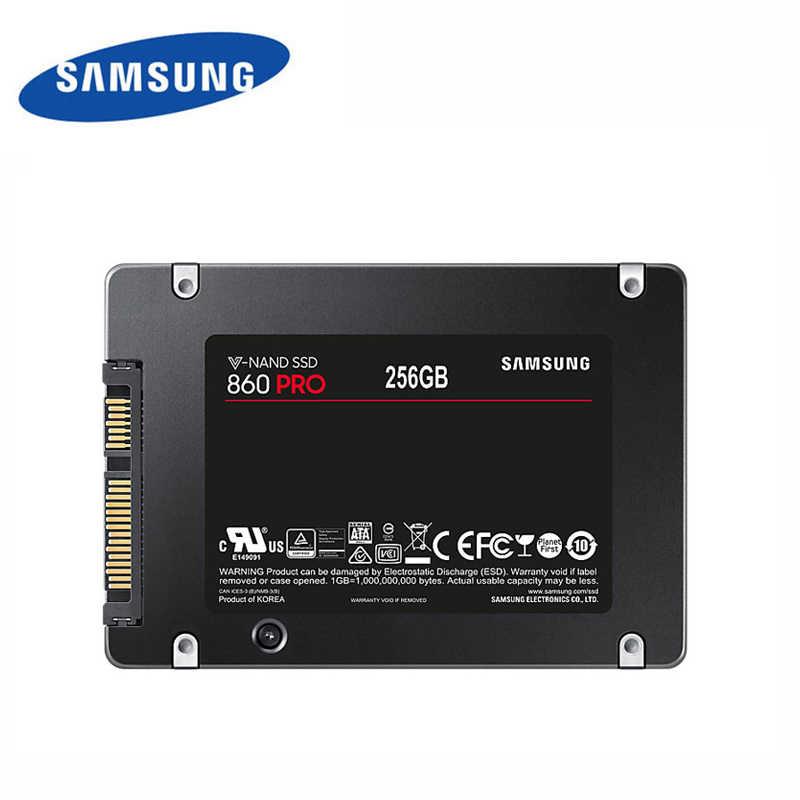 "Samsung New 2.5 Inch Original Internal SSD 860 PRO 2.5"" SATA III 512GB 1TB V-NAND For Desktop HD Drives Solid State Disk"
