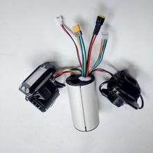 24v 36v 48v składana hulajnoga akcesoria kontroler skutera z włókna węglowego akcelerator hamulca LCD tanie tanio WORMS 250w 350w thumb brake Accelerator LCD