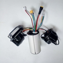 Mini Round Electric Bike Scooter Controller Brake LCD Unit Carbon Fiber Motor 24v 36v 48v 250w 350w