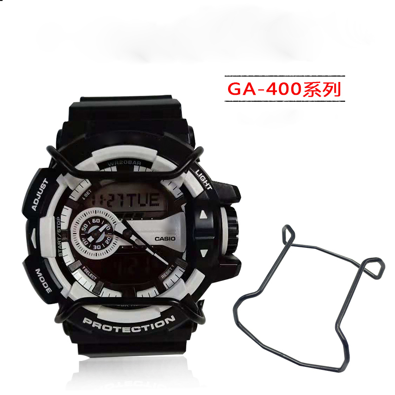 Watch accessories For CASIO G-SHOCK bumper GA-700/100/800/400 watch accessories protection rod silver black gold