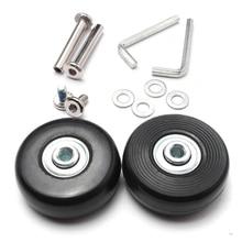 Mayitr, 2 комплекта, набор для ремонта колес, набор для ремонта колес, набор подшипников, роликовых колес 45 мм