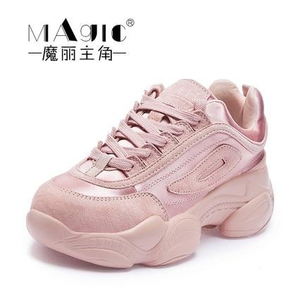 Nueva Zapatos 1 De Marea Versión 3 2019 La Mujer Coreana Salvaje 2 Primavera Tpq8I