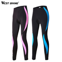 MTB Cycling Jerseys Trousers Quick Drying Silicone Cushion Tight Riding Woman Cycling Pants Bicycle Tights Padded