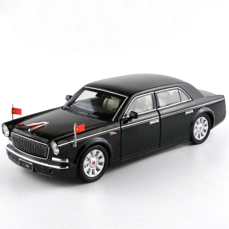 * 1:32 China FAW AUTO HONGQI HQ L5 Parade car PULL BACK & Sound & Light