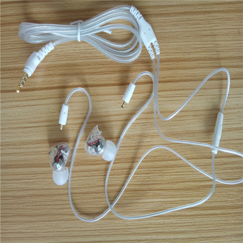NAOI A8 In Ear Kopfhörer Noise Cancelling Stereo Wired Headset mit - Tragbares Audio und Video - Foto 5
