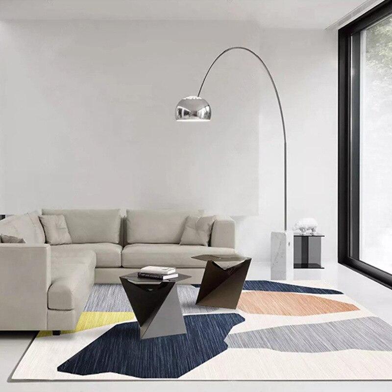 Tapis nordiques grands tapis pour la maison tapis pour salon tapis chambre nordique bébé gris moderne décor à la maison tapis de sol
