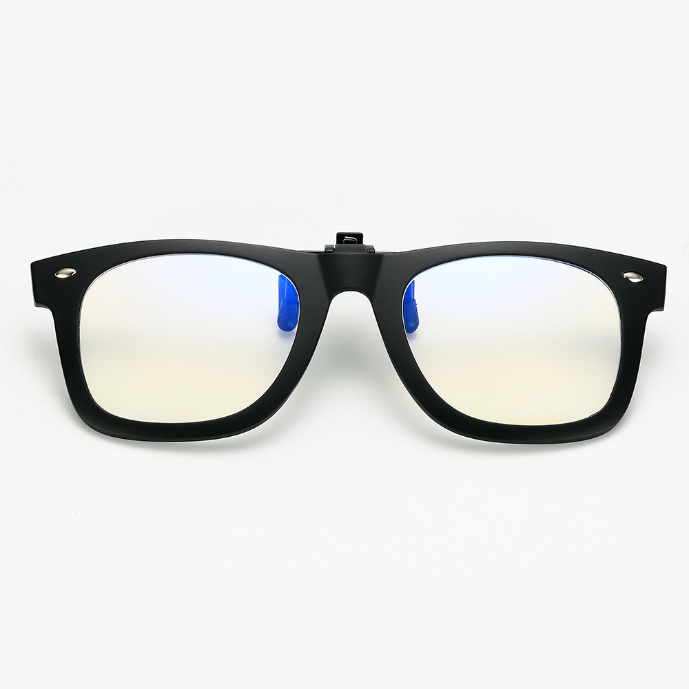 Anti Blue Ray Clip On Glasses Men Women Computer Goggles Game Glasses Anti-Blue Light Radiation Resistant Eyewear