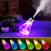 Landas Gadget USB Led Light Colorful Bulb Humidifier Creative Mini Landscape LED Night Office Gadgets