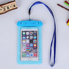 phone bag underwater waterproof phone bag diving bag mobile phone pouch case for iphone 5s 6 6s Plus xiaomi redmi4 4 pro 3s case