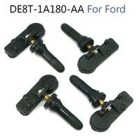 4 pces sensores de monitoramento da pressão dos pneus para ford motorcraft tpms12 DE8T-1A180-AA