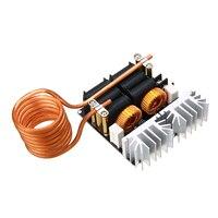 1pc 1000 w 12 v-48 v zvs placa do módulo de aquecimento por indução diy ferramentas de tratamento térmico do aquecedor de indução de baixa tensão com bobina de tesla