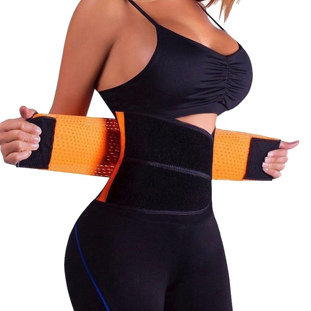 FLORATA Body Shaper Slimming Girdle Belt Waist Cincher Underbust Control Corset Waist Trainer Belly Sweat Belt Modeling Strap