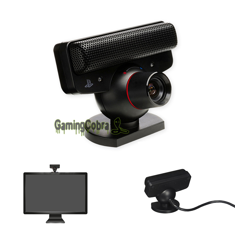USB Move Motion Cam Eye Camera Microphone Zoom Lens Gaming for PS3 Playstation 3 ...