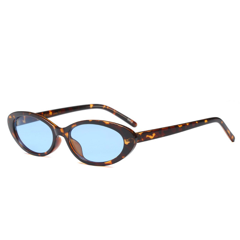 D437 leopard blue