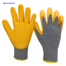 Men's Work Gloves Latex Anti-Cutting Latex Security Protection Wearproof Workers Welding Moto Garden Gloves Drive Gloves 2012 nmsafety better grip ultra thin knit latex dip nylon red latex coated work gloves luvas