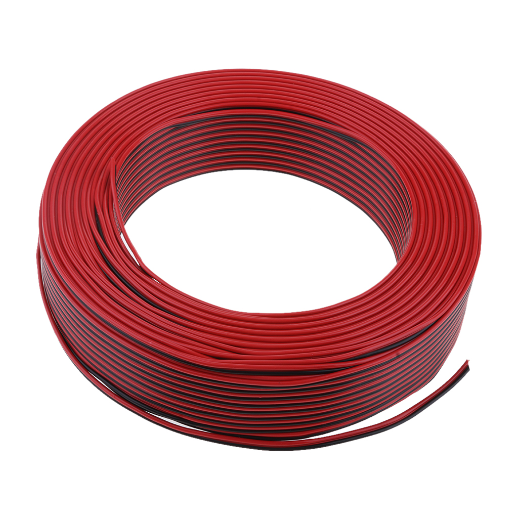 For Sale Car Home Outdoor Audio Speaker Wire 03mm Square Pvc Cable Wiring 100meter