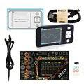 Мини DS211 Портативный ЖК-цифровой осциллограф ARM Nano карманный размер Профессиональный цифровой DSO211 автомобильный измерительный щуп MCX