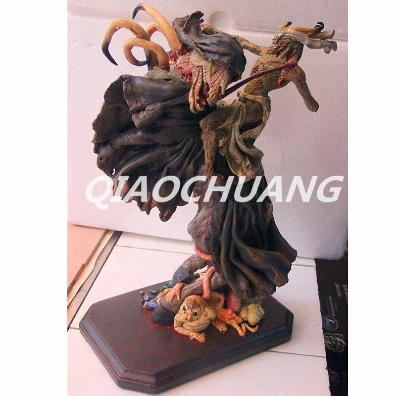 DEATH NOTE отбеливать статуя Инкуб бюст 1:4 дьявол полный Длина портрет Смола фигурку Коллекционная модель игрушки коробку W231