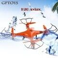 2016 Mais Novo H2O 2.4 GHz 4CH com Transmissor LCD À Prova D' Água RC Eversion Drone helicóptero 3D 6 Eixos Modo Headless vs V977 FQ777