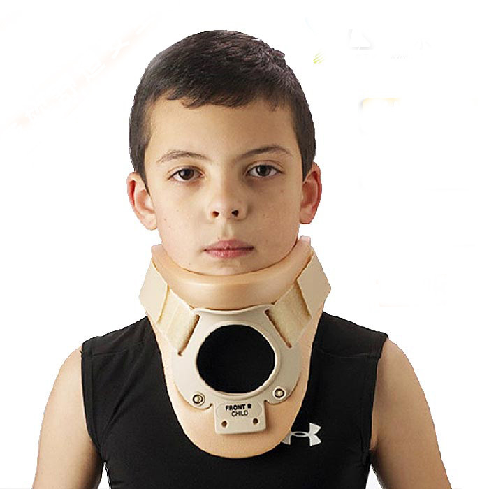 child Medical Fixed brace soft and comfortable neck collar cervical traction medical neck support orthosis adjustable cervical collar device fixed traction braces vertebra rehabilitation head protection