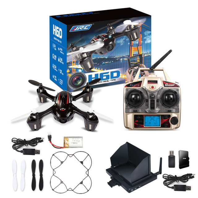 FPV Mini Drones With Camera Hd Jjrc H6d Quadcopters Flying Helicopter Professional