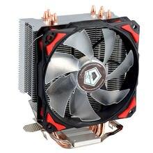 $ Number pines PWM 120mm CPU TDP 130 W de refrigeración refrigerador ventilador 4 heatpipe para LGA1151 775 115x FM2 + FM1 FM2 AM3 + CPU Radiador ID-Refrigeración SE-214