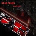 85 см звездные войны световой KYLO рен красного креста световой меч из светодиодов свет меч игрушки пвх косплей оружия игрушек для мальчиков рождественский подарок