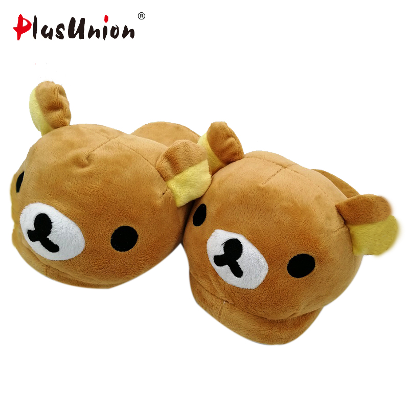 plush flat indoor cartoon flock adult furry slippers fluffy winter fur animal shoes rihanna house home women adult slipper anime cellular line usbdatacmicrousbp pink