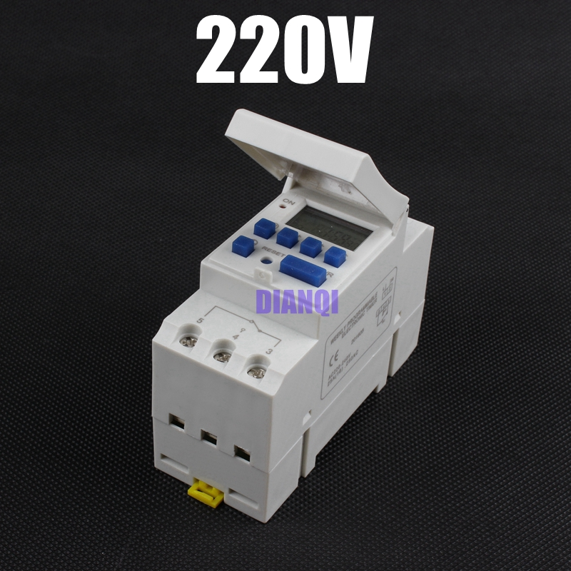 Su per man Store Electronic Weekly 7 Days Programmable Digital TIMER SWITCH Relay Control 220V 230V 6A 10A 16A 20A 25A 30A Din Rail tp8a16 DIANQI