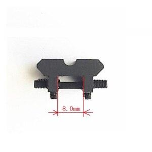 Image 3 - IZH 27 / MP 153 / MP 155 / MP 233 / TOZ 120 / MTs21 12 / TOZ 84 ventilato costola rail Weaver Picatinny mount nero