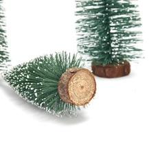 1 шт. Мини Рождественская елка мультфильм шляпа игрушка на день рождения мультфильм дерево Детская Вечеринка Игрушка Дерево подарки для детей