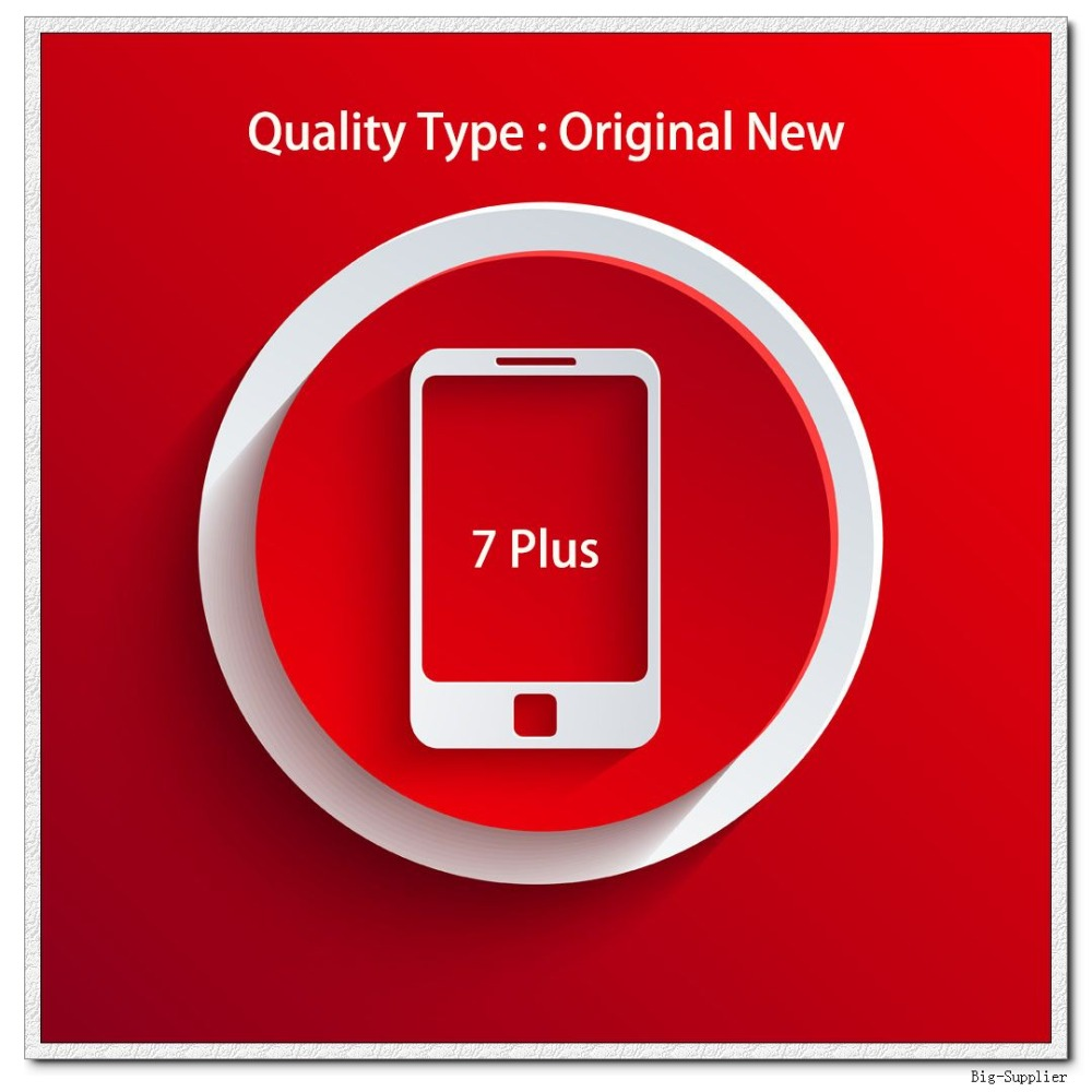 5pcs lot Official Original New A Quality Screen for 7 Plus LCD Display Black White