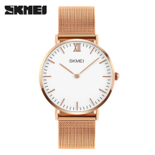 2019 SKMEI Luxury Brand Men Watch Ultra Thin Stainless Steel Clock Male Quartz Sport Watch Waterproof Casual Wristwatch Relogio skmei luxury brand quartz watch men s gold casual business full stainless steel band men quartz watch fashion clock male 2017