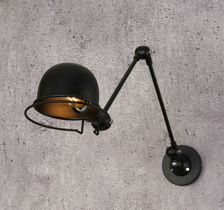 Nordic loft industrial style adjustable  Wall Lamp Vintage sconce wall lights LED for living room bedroom bathroomNordic loft industrial style adjustable  Wall Lamp Vintage sconce wall lights LED for living room bedroom bathroom