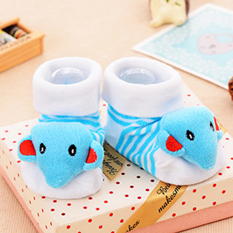 High Quality 4Pair Baby Children Kids Socks Suitable 0-18 Month Infant Newborn Socks 100% Cotton Cute Elephant Bee Rabbit Models