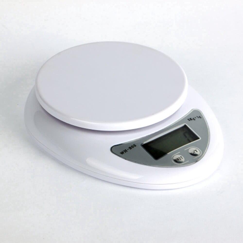 Spedizione Gratuita! 5 kg 5000g 1g digital kitchen dieta di alimento postale bilancia peso di equilibrio di pesi led electronic bilancia