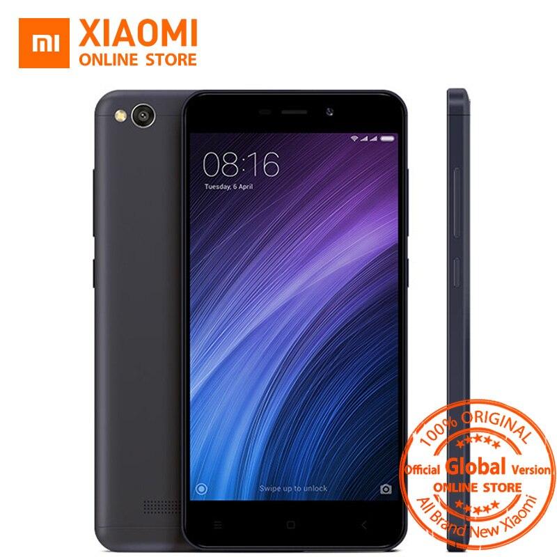 Цена за Глобальный vesion xiaomi redmi 4a 2 ГБ ram 16 ГБ 32 ГБ rom мобильный телефон Snapdragon 425 Quad Core CPU 5.0 Дюймов 13.0MP 3120 мАч Батареи